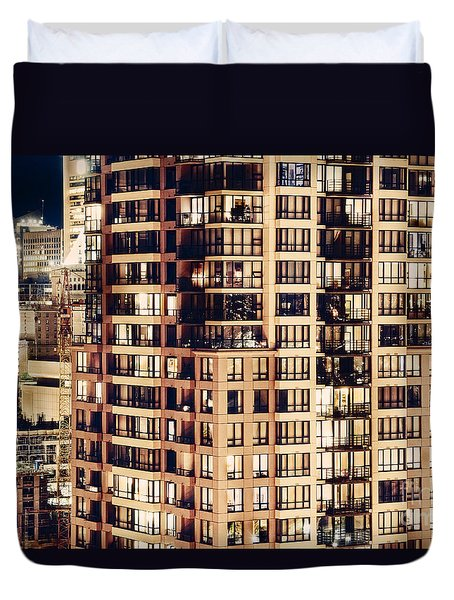 Urban Living Dclxxiv By Amyn Nasser Duvet Cover by Amyn Nasser