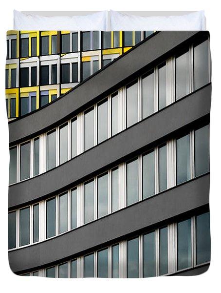 Urban Rectangles Duvet Cover by Hannes Cmarits