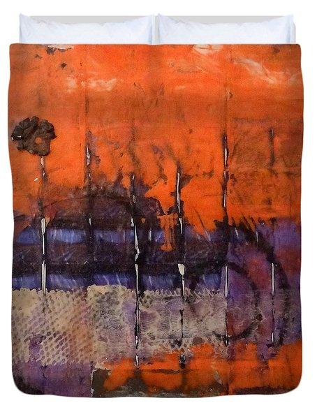 Urban Rust Duvet Cover