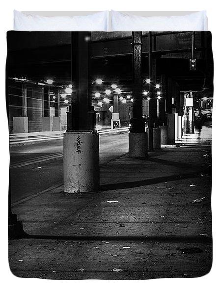 Urban Underground Duvet Cover