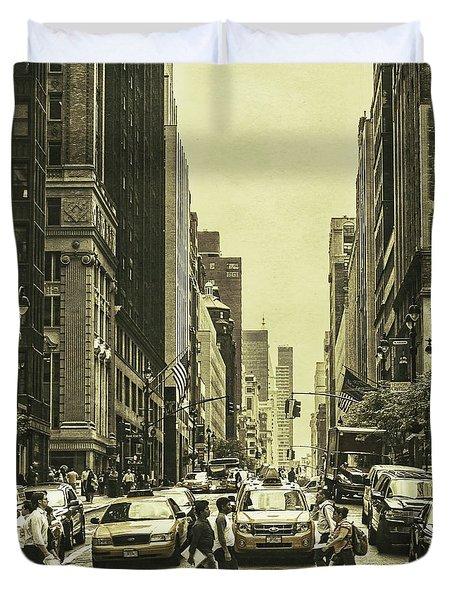 Urbanites Duvet Cover