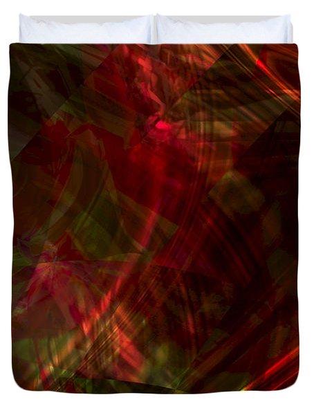 Urgent Orbital Duvet Cover by Richard Thomas