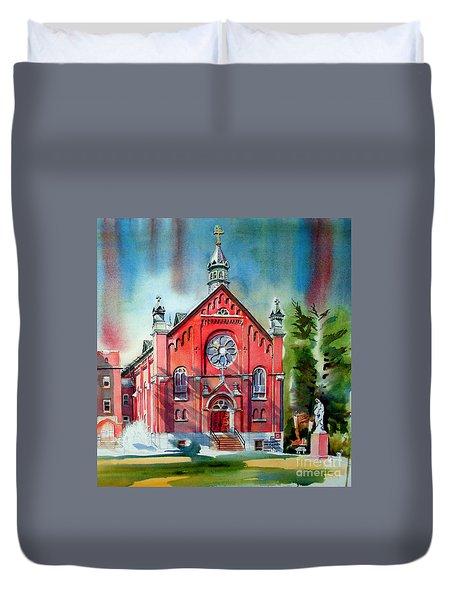 Ursuline Academy Sanctuary Duvet Cover by Kip DeVore