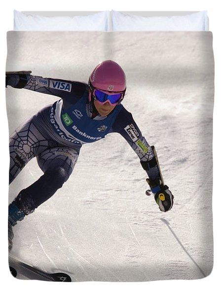 Us Alpine Championships Duvet Cover
