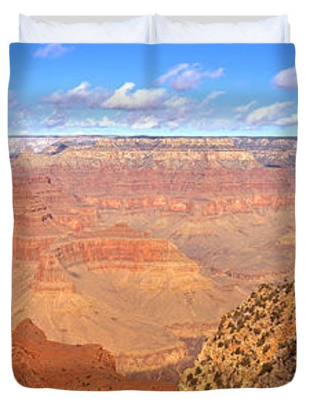 Us, Arizona, Grand Canyon, View Duvet Cover