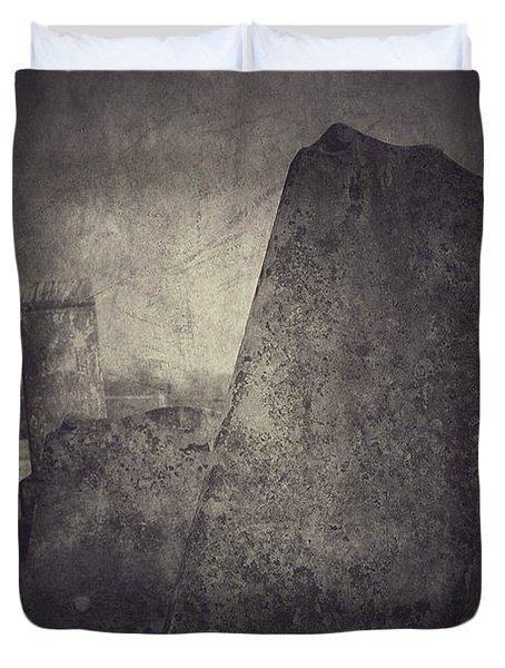 Us Duvet Cover by Trish Mistric