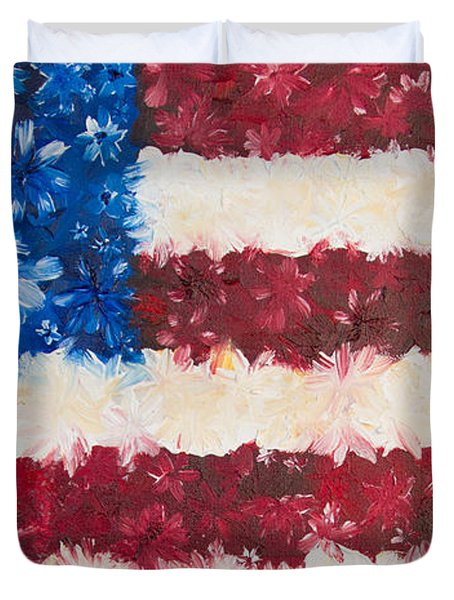 Usa Proud Duvet Cover