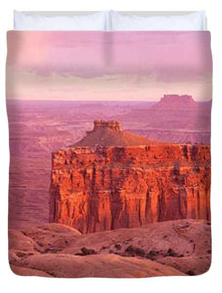 Usa, Utah, Canyonlands National Park Duvet Cover