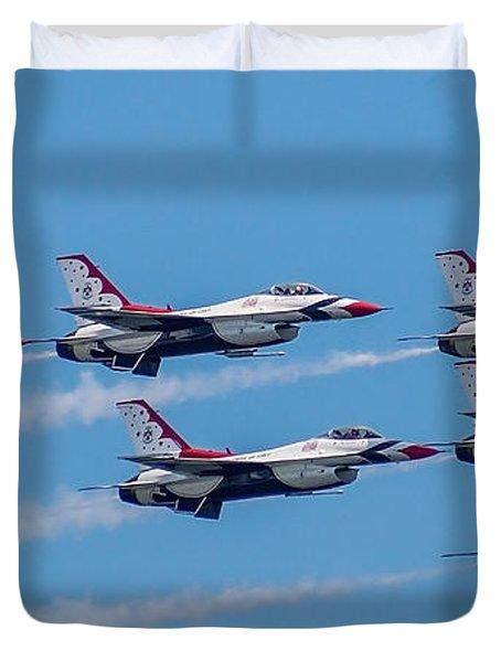 U.s.a.f. Thunderbirds Duvet Cover