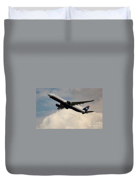 Usair Airbus Duvet Cover
