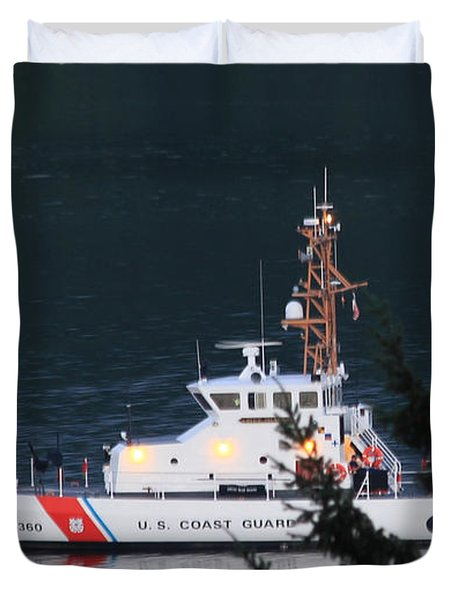 Uscgc Blue Shark Duvet Cover