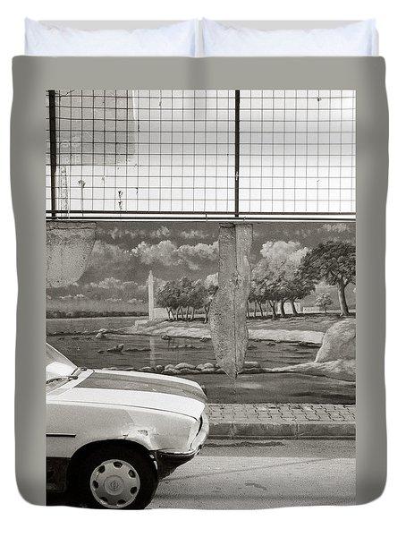 Uskudar Dreams Duvet Cover by Shaun Higson