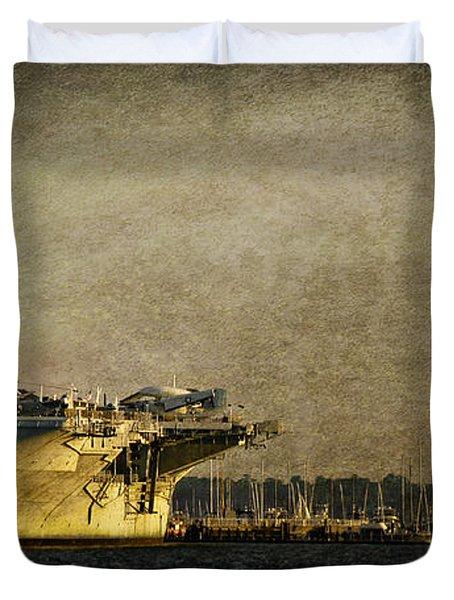 Uss Yorktown Cv10 Duvet Cover