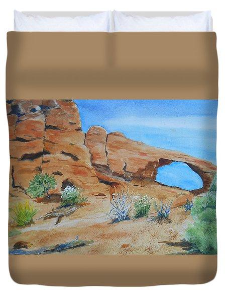 Utah - Arches National Park Duvet Cover