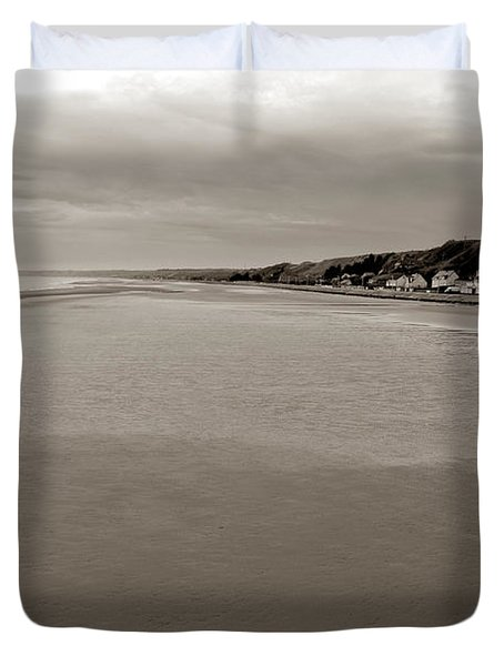 Utah Beach Duvet Cover