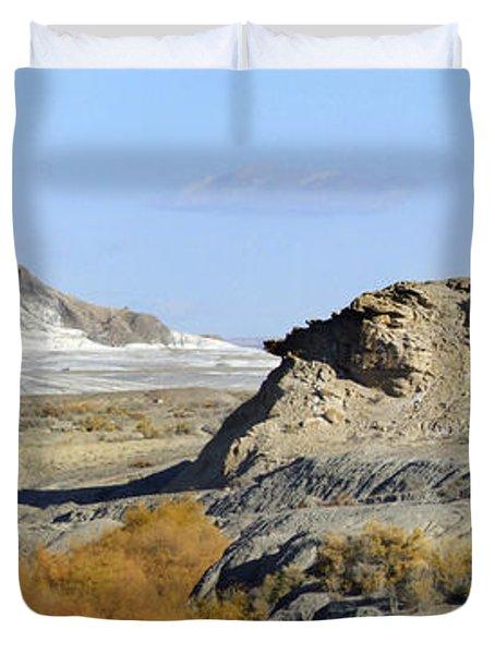 Utah Outback 42 Panoramic Duvet Cover by Mike McGlothlen