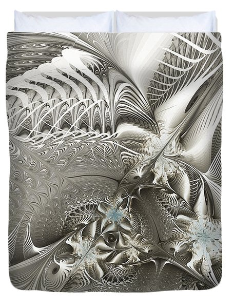 Utopia-fractal Art Duvet Cover