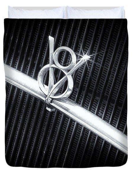 V8 Duvet Cover by Caitlyn  Grasso