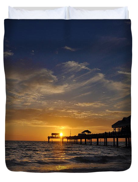 Vacation All I Ever Wanted Duvet Cover by Bill Cannon