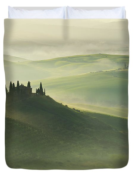 Val D'orcia Duvet Cover