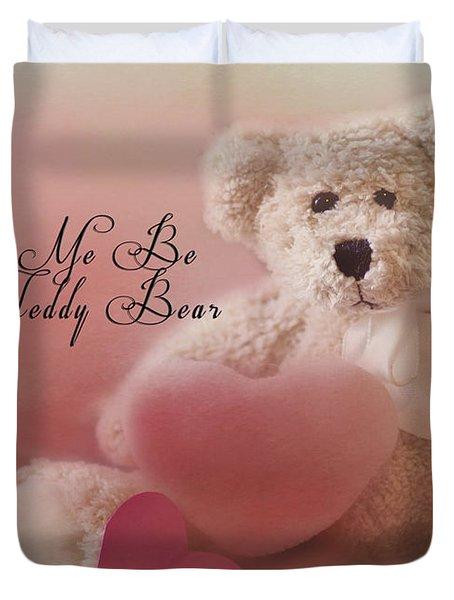Valentine Bear 2 Duvet Cover