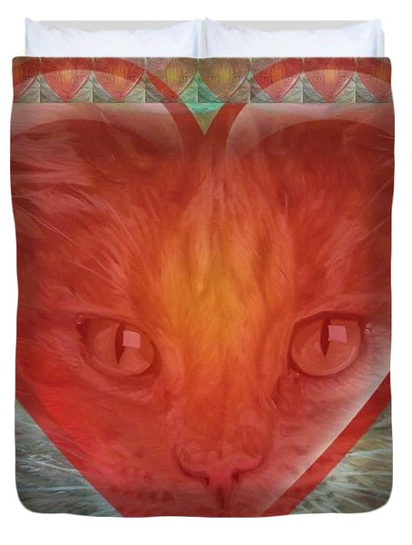 Valentine Gallery Number 3 Duvet Cover by PainterArtist FIN