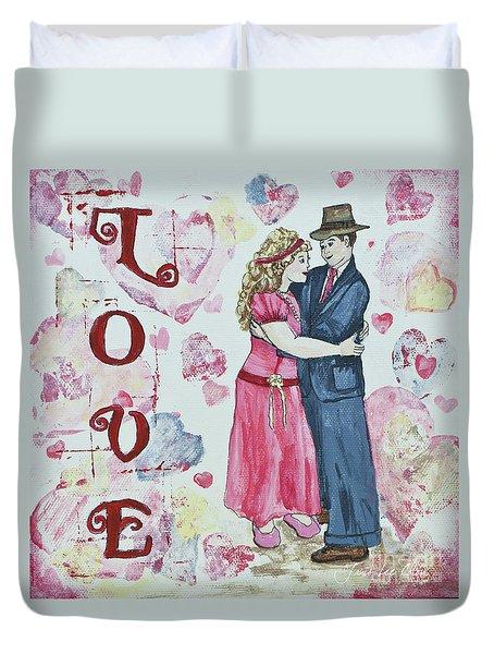 Valentine Love Duvet Cover