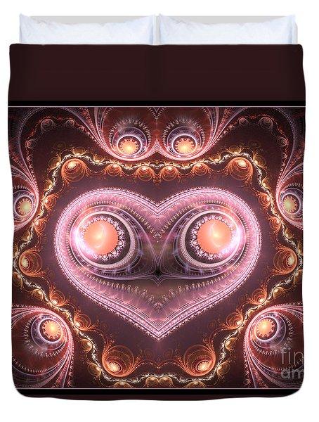 Valentine's Premonition Duvet Cover