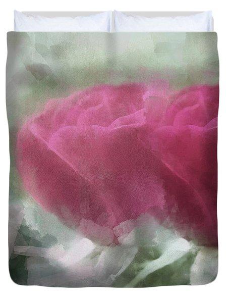 Valentine's Roses Duvet Cover
