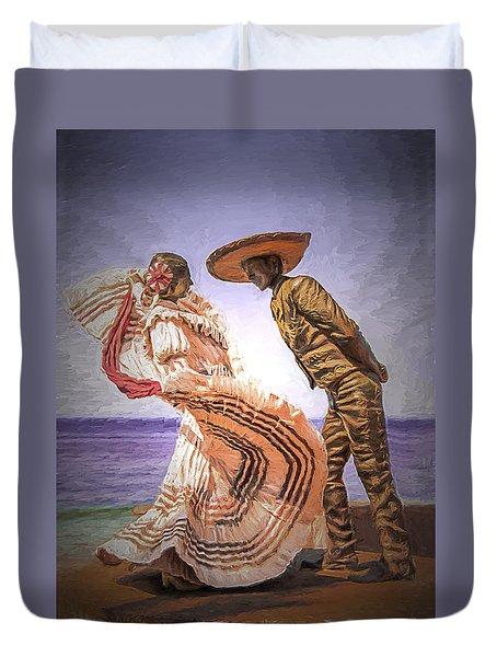 Vallarta Dancers Duvet Cover