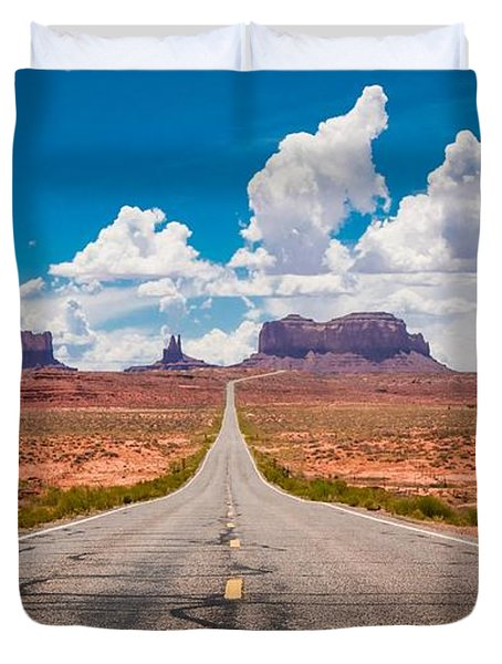Valley Road Duvet Cover