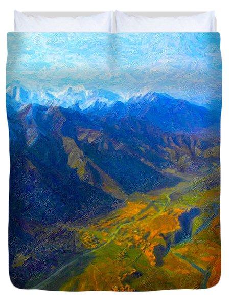 Valley Shadows Duvet Cover