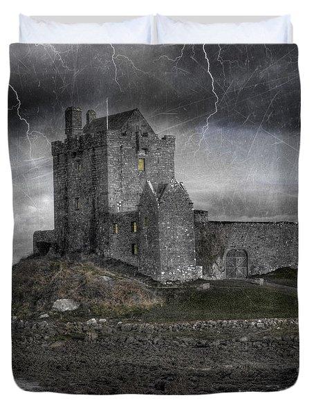 Vampire Castle Duvet Cover