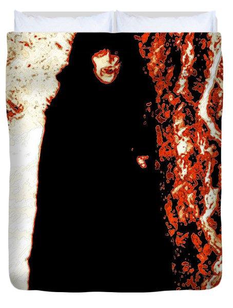 Vampire Red  Duvet Cover by First Star Art