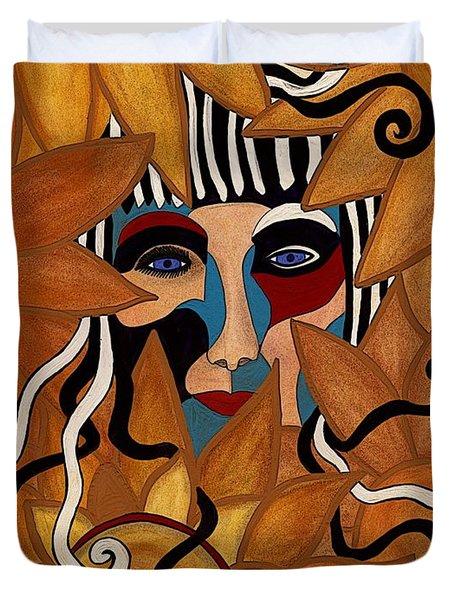 Van Gogh Meets Picasso Duvet Cover