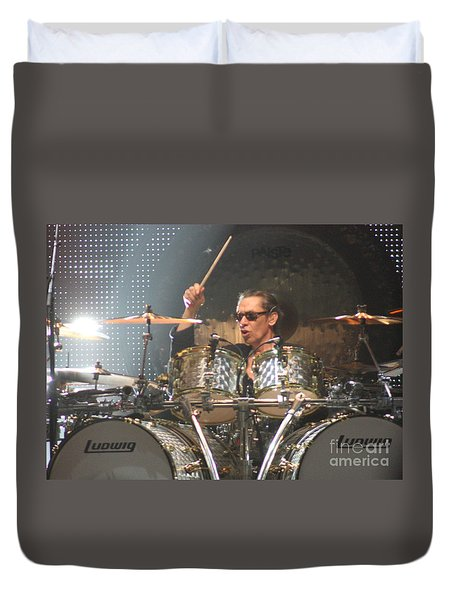 Van Halen-7422b-1 Duvet Cover by Gary Gingrich Galleries