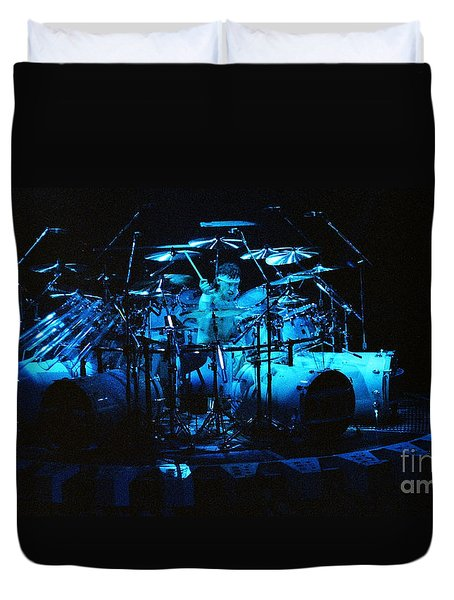 Van Halen-ou812-alex-2-1 Duvet Cover by Gary Gingrich Galleries