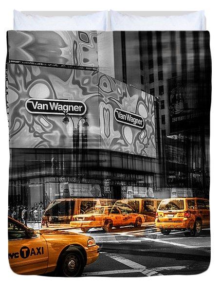 Van Wagner - Colorkey Duvet Cover