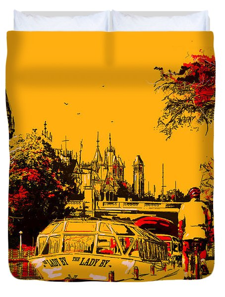 Vancouver Art 002 Duvet Cover by Catf