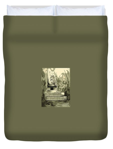 Bougie Duvet Cover by Julio Lopez