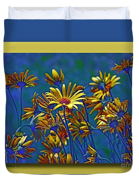 Duvet Cover featuring the photograph Variations On A Theme Of Florid Dreams by Chris Anderson