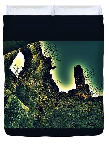 Vasai Fort Duvet Cover by Salman Ravish