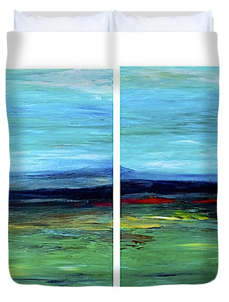 Vast Horizon Duvet Cover by Dick Bourgault