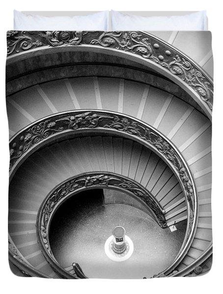 Vatican Spiral Duvet Cover