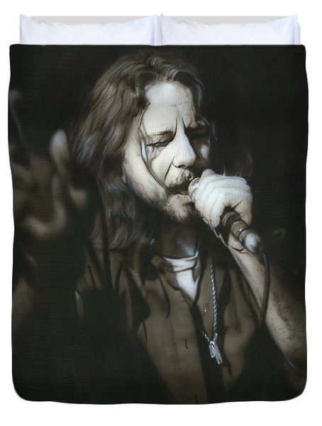 Eddie Vedder - ' Vedder IIi ' Duvet Cover