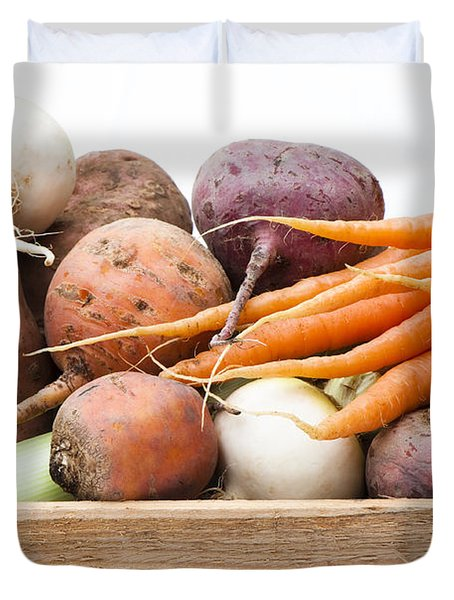Veg Box Duvet Cover