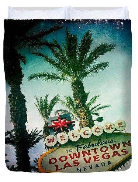 Vegas Duvet Cover by Nina Prommer