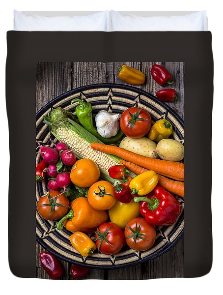 Vegetable Basket    Duvet Cover