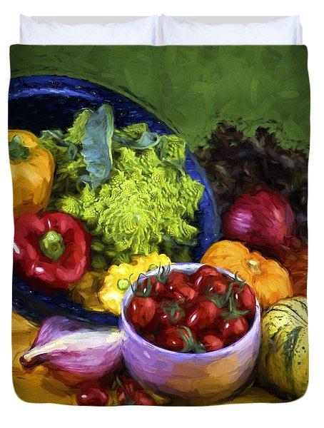 Veggie Bowl  Duvet Cover