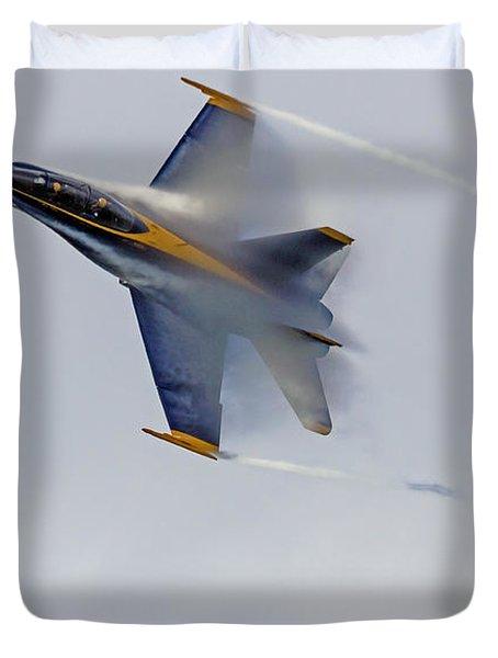 Veiled Angel Duvet Cover